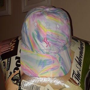 Rainbow unicorn cap